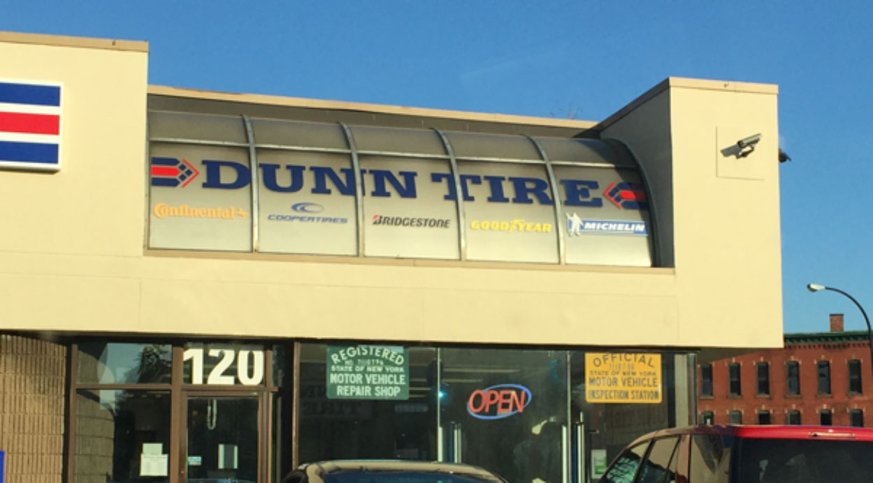 Dunn Tire graphics