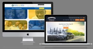 New websites collage