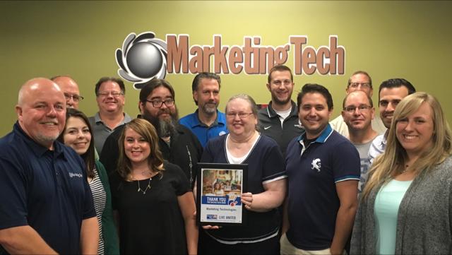 Marketing Tech Team photo 2016