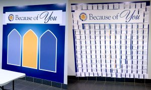 Wall at Medaille College
