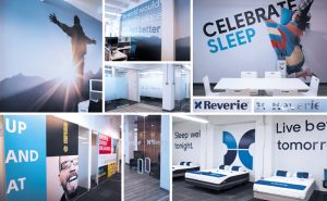 Reverie Collage of wall graphics