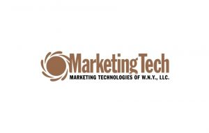 Marketing Tech logo on white background