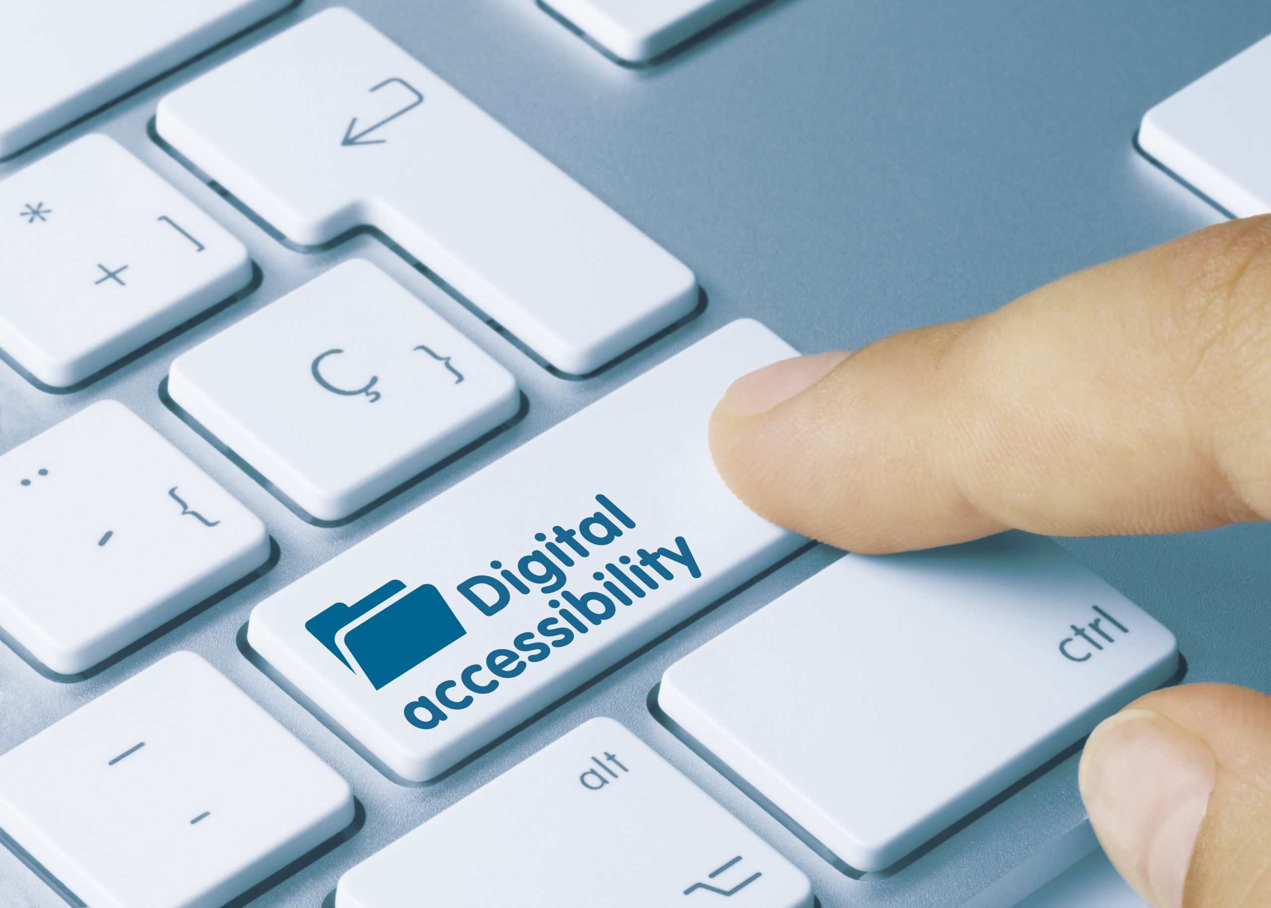 web accessibility concept