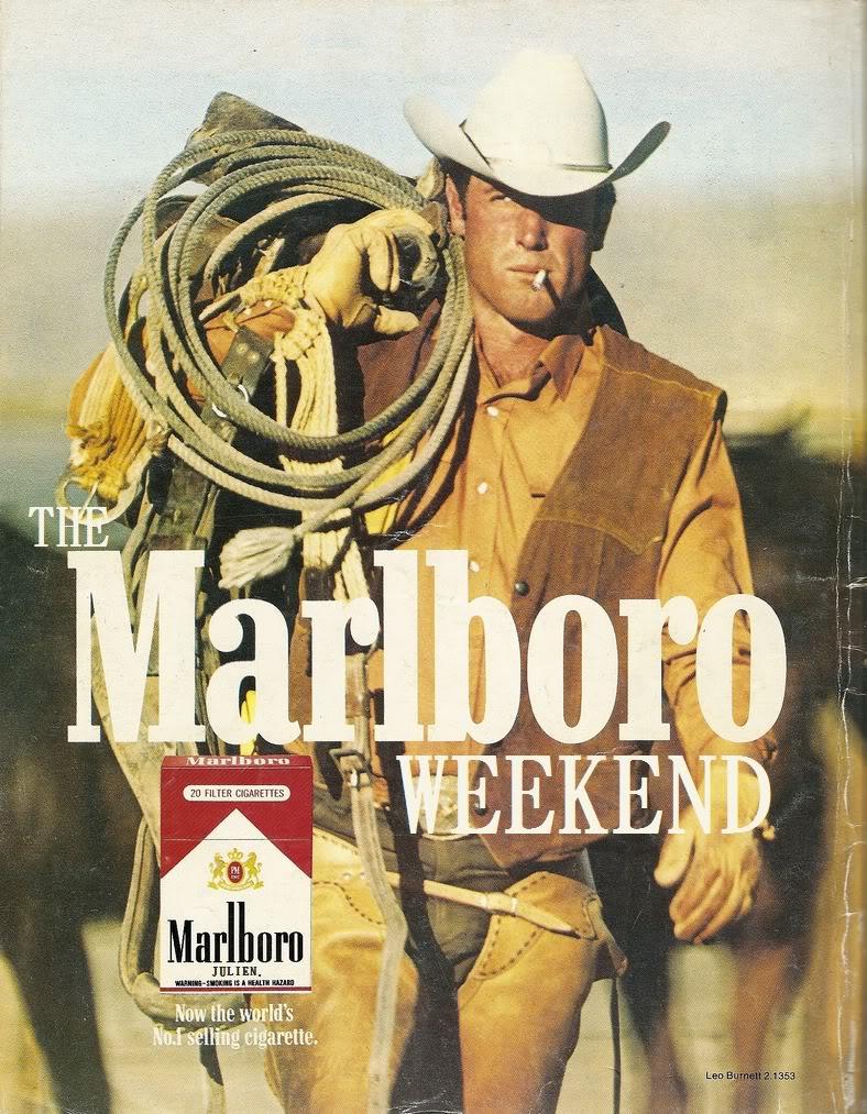 Marlboro Weekend Man ad