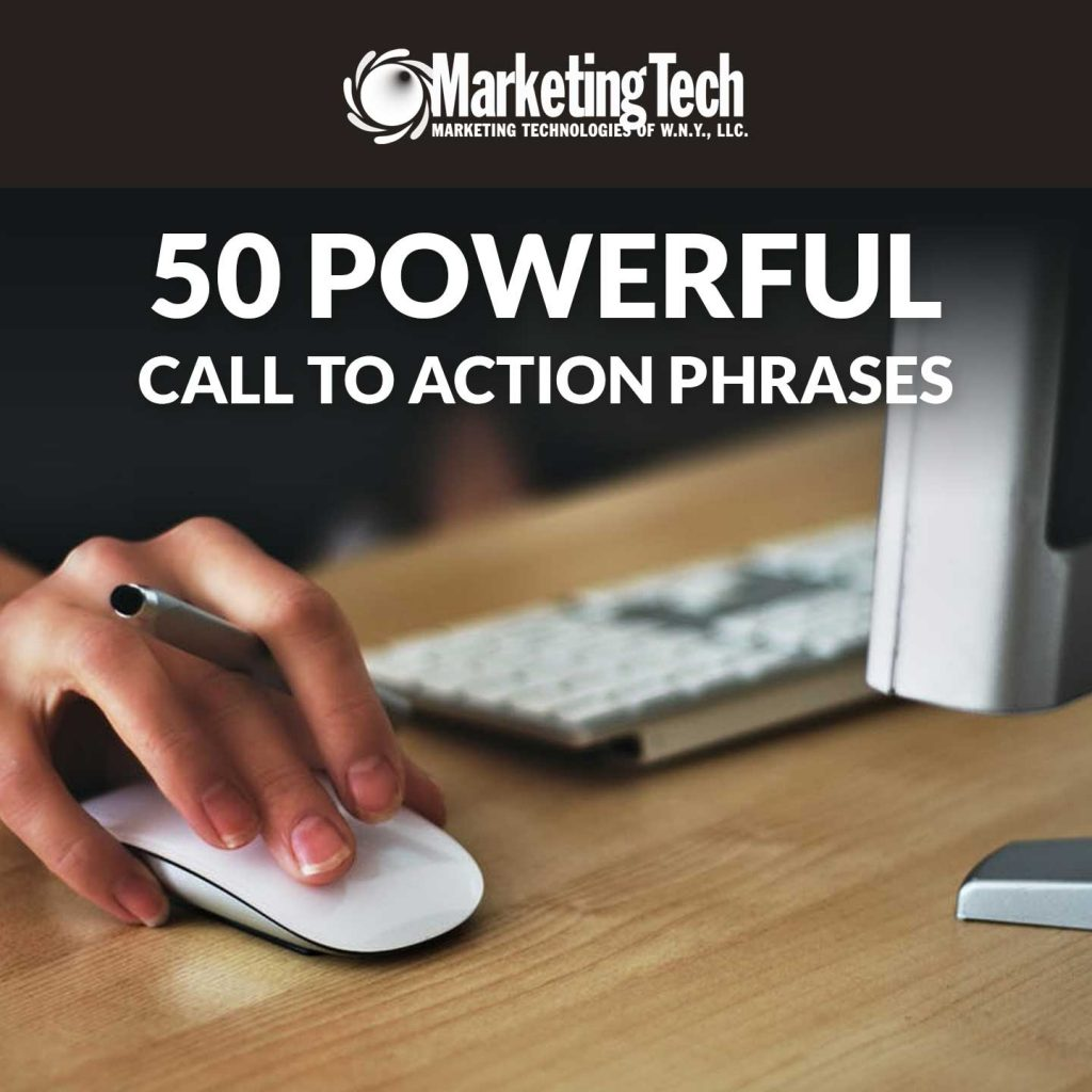 50 Powerful Call To Action Phrases Cover