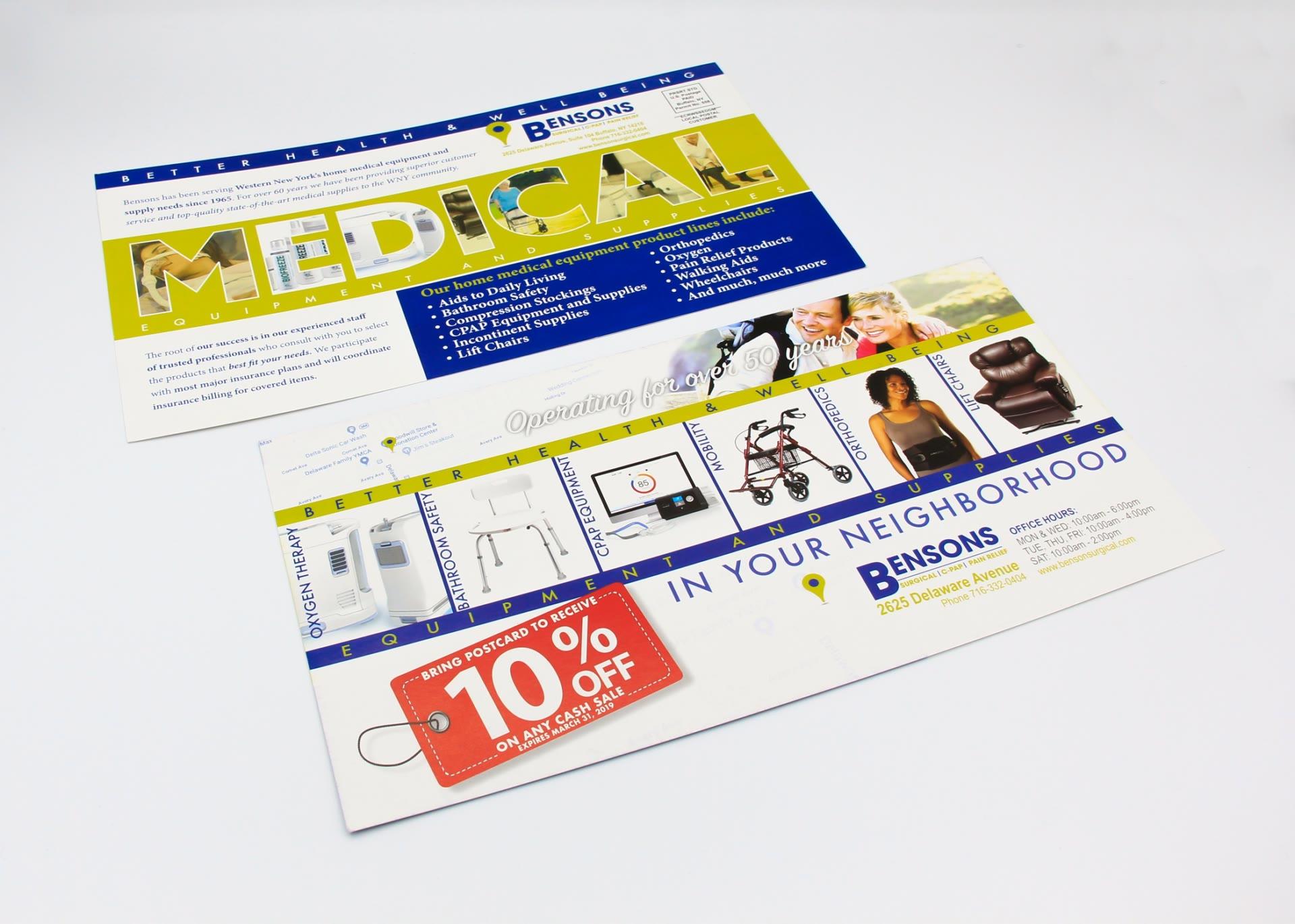 Benson Surgical postcard