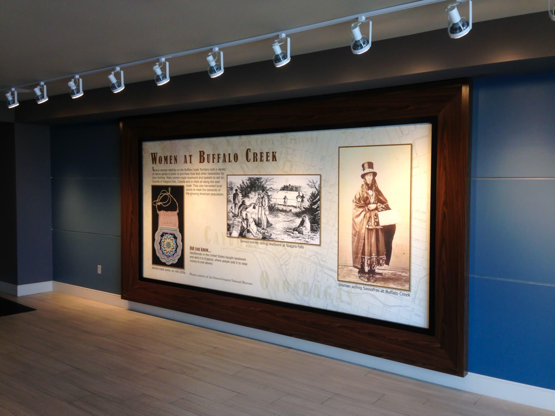 large format museum display