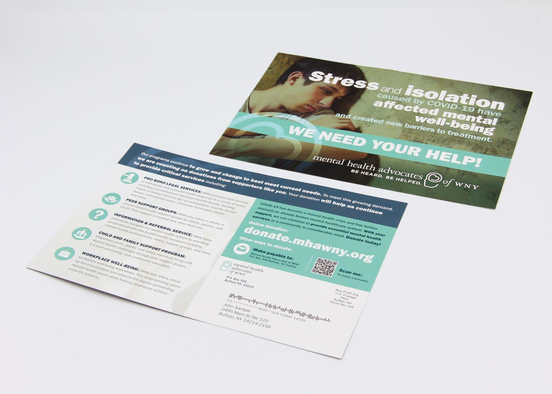 Mental Health Associates postcard