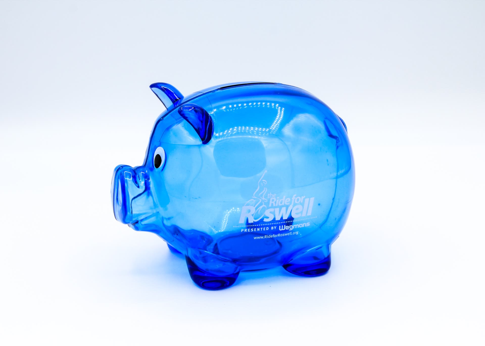 Ride for Rosewell piggy bank