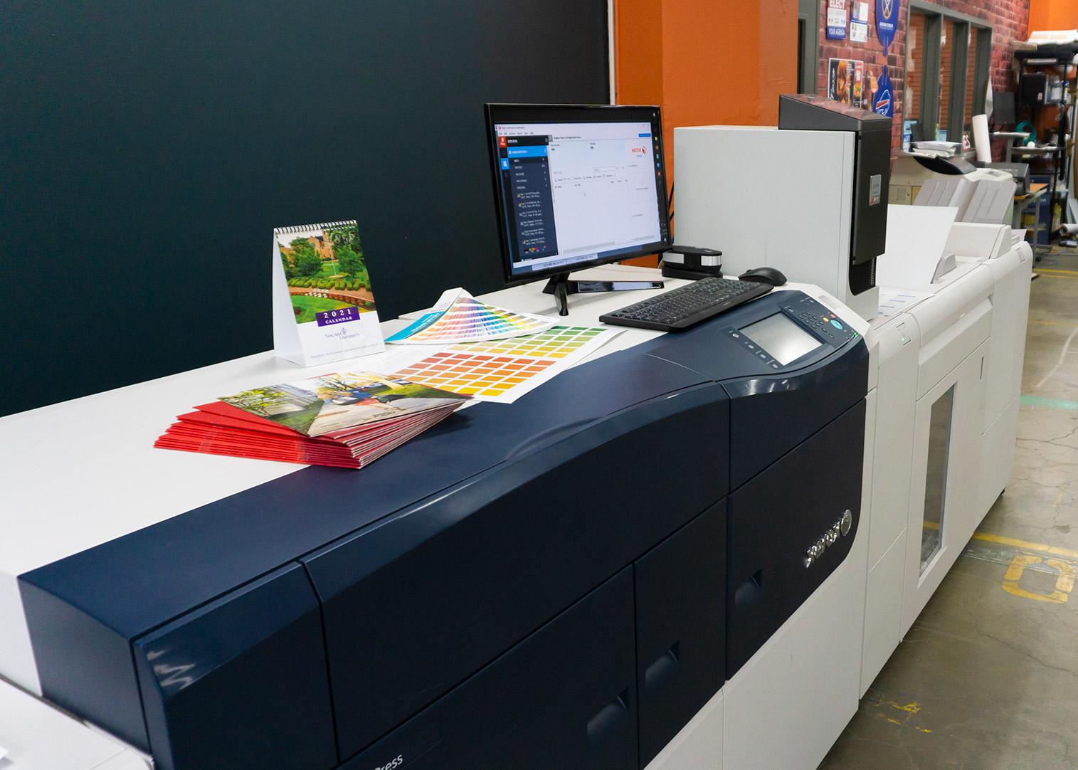 large xerox printing press