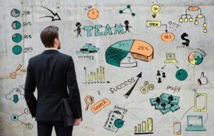 marketing services concept