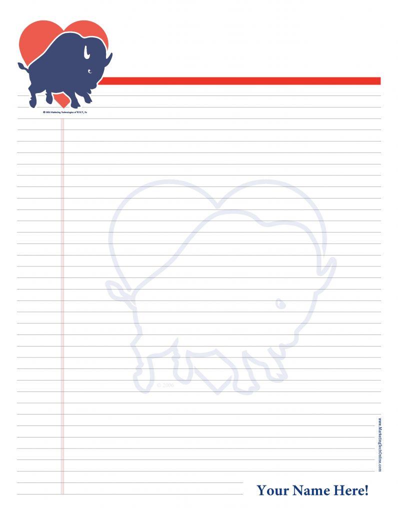 Marketing Tech Buffalove Personalized Notepad
