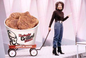 KFC advertisement with Oprah Winfrey
