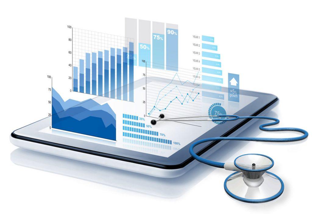 data wellness exam concept